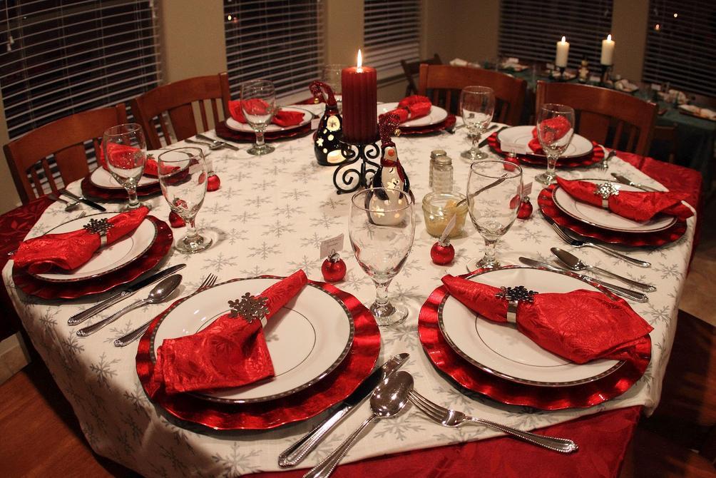 Inviateci le vostre foto del cenone e del pranzo di natale