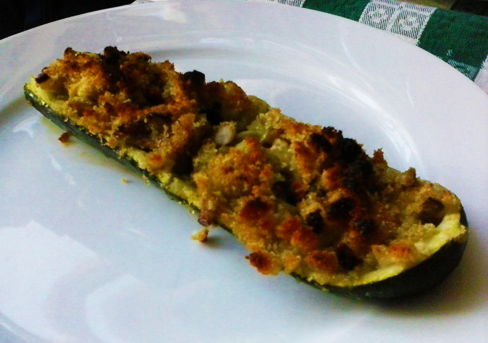Gondole di Zucchine e Funghi