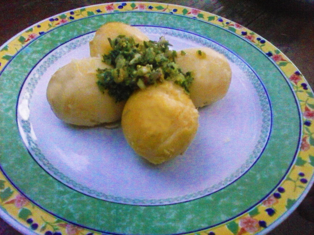 Patate Novelle in Salsa Verde