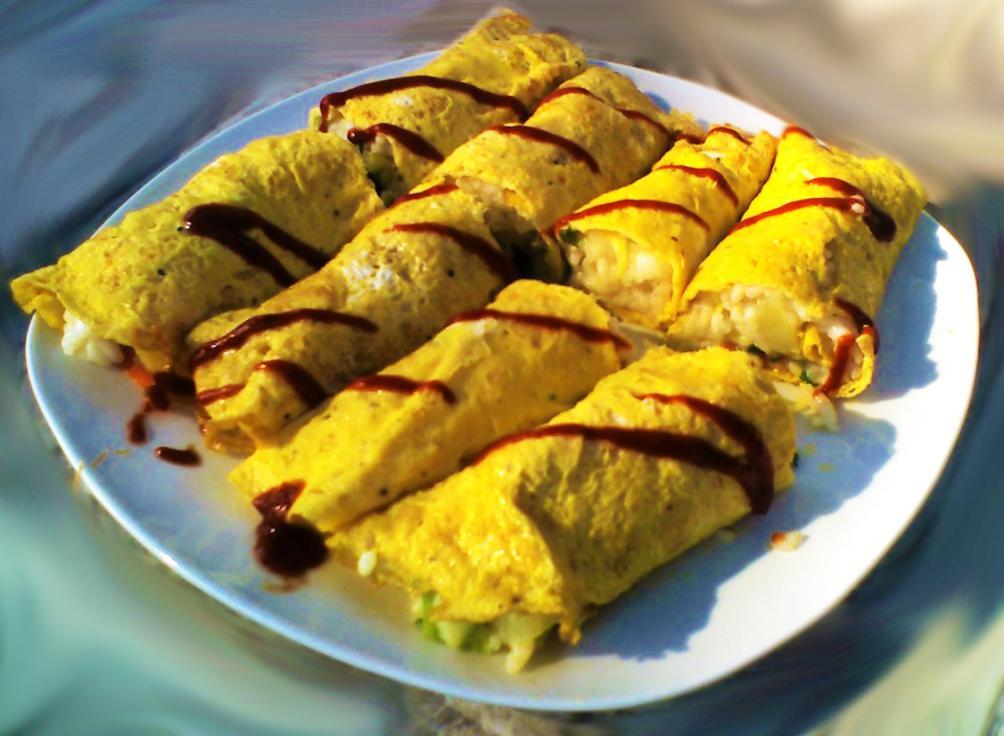 Omoraisotto (omelette di riso)